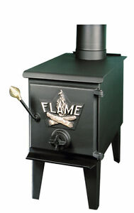 Brand New Wood Burner with chimney fittings, still in boxes