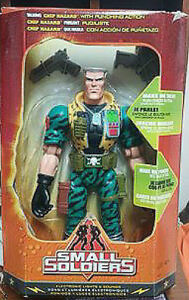 """Small Soldiers 12"""" Talking Chip Hazard with Punching Action Figu"""