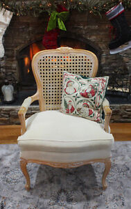 Beautiful Queen Anne Cane Back Chair Windsor Region Ontario image 1