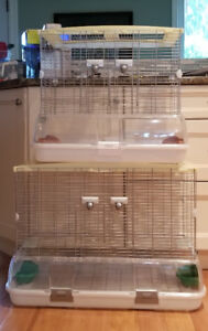 TWO VISION BIRD CAGES