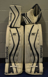 FOR SALE - REEBOK XLT Custom Pro Goal Pads and Gloves Set