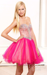 Terani Couture Prom Dress.
