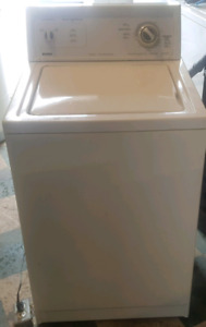 Kenmore extra capacity washer works great
