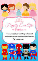 STAR WARS PARTIES IN WPG & AREA ~ Happily Ever After Parties