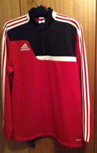 NEW - Men's Size Large Red ADIDAS Climacool Pullover Jacket