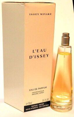 L'eau D'Issey by Issey Miyake 2.5 oz Eau De Parfum  Spray Perfume Women Tester
