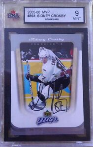 2005-06 ROOKIES OF SIDNEY CROSBY ALL GRADED 9 AND BETTER!!!! Cambridge Kitchener Area image 5