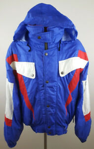 DESCENTE Vintage Multi Color Snow / Ski Suit 2 Piece Size small