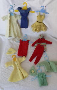 "Handmade doll clothes for 12"" fashion doll"