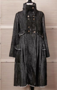 Steampunk style long jacket