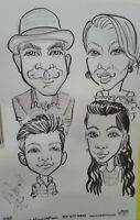 The Best Caricatures for your party, Trade show, or  event