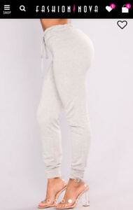 Fashion Nova Grey Joggers