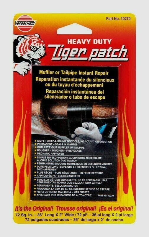VersaChem 36″ Tiger Patch Muffler & Tailpipe Wrap Instant Repair Adhesive Tape!! Car & Truck Parts