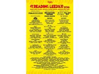 2x Leeds festival weekend camping tickets.