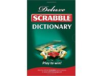 Deluxe Scrabble dictionary by collins - NEW