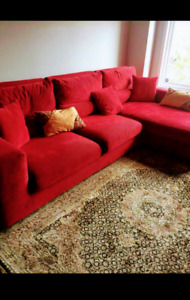 Wonderful red sofa