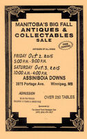 Manitoba's BIG FALL ANTIQUE Show & Sale THIS FRIDAY & SATURDAY