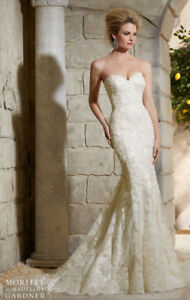 Mori Lee by Madeline Gardner Mermaid Wedding Dress