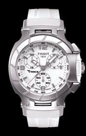 TISSOT T048.217.17.017.00 T-RACE Lady white index arabic