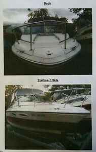 Boat runs great!! come and give her a try before it's winterized