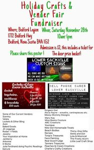 Cases, led signs, Lockets with charms sale Sat Nov 28th 10am-1pm