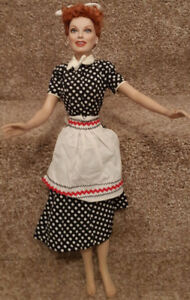 "Lucille Ball ""I Love Lucy"" 16 "" Vinyl Portrait Doll by Franklin"