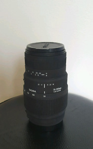 Sigma 70-300mm 4-5.6 Canon Mount