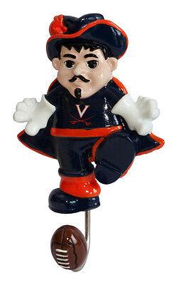 Universityof Virginia Mascot Wall Hook Football NCAA License college sport