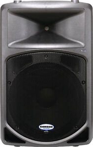Samson db500a powered speakers