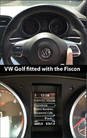 VW Handsfree Fiscon works like factory handsfree Glasgow edinburgh dundee ayr call
