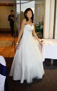 Gorgeous Ivory Wedding Gown, size XS (0-2)