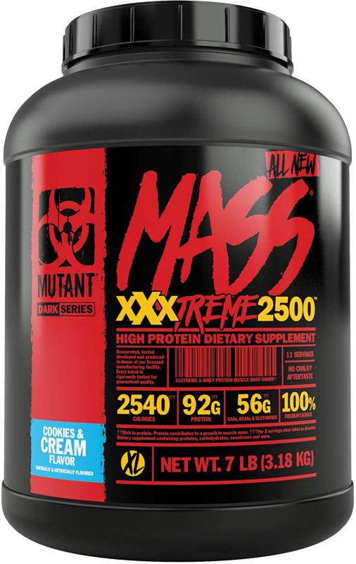 Mutant Mass XXXtreme Gainer – Whey Protein Powder – Buil