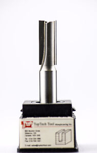 1/2 in x 1 in Carbide Double Flute Straight Router Bit Kitchener / Waterloo Kitchener Area image 1