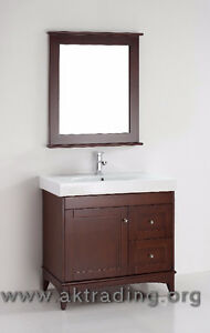 Modern-Transitional vanity, bathroom furniture, solid oak.
