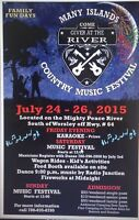 Many Islands country music festival