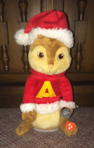 Alvin & the Chipmunks Singing Dancing Plush