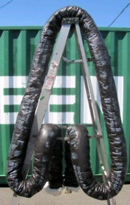 Lot of 3 Unused Flexible Insulated HVAC Ducts; Louisbourg