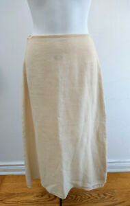 designer James Yunker maxi linen skirt