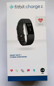 REDUCED Fitbit Charge 2 HR with additional straps
