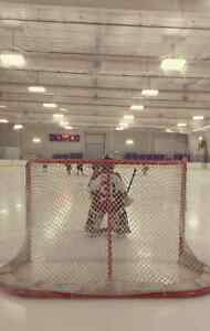 Ice time for an 8 year old goalie?