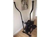 Pro fitness elliptical cross trainer workout machine