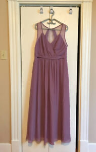 Chiffon and Lace Bridesmaid Dress
