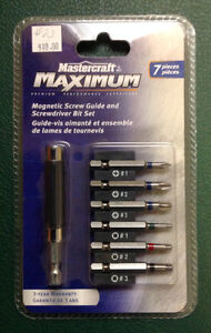 Guide and Screwdriver Bit Set