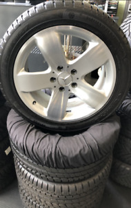 Mercedes Wheels with 245/45/17 Kumho Snow tires