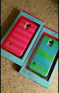 Kate Spade striped cases for Samsung Galaxy S5 Kitchener / Waterloo Kitchener Area image 1