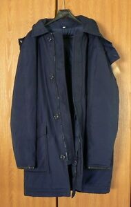 Men's Downfill Parka with Double Lining - Size 46