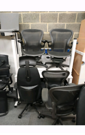 Herman miller Aeron Size B fully loaded (free delivery in Manchester)