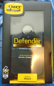 Otter Box Defender Case for iPhone X & iPhone XS