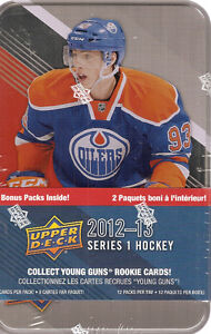 2012-2013  Upper Deck 1 Hockey Tin