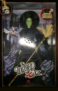*WICKED WITCH of the WEST BARBIE* Doll musical Wizard of Oz
